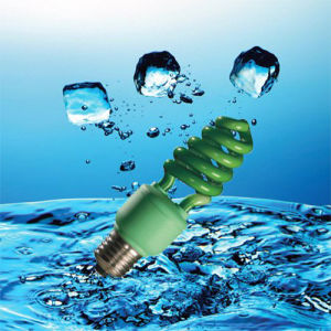 13W Green Color Lamp Energy Saver CFL with CE (BNF-G) pictures & photos