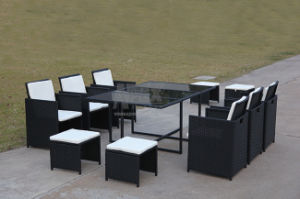 Garden Furniture Rattan Dining Set Outdoor Aluminum Furniture Set pictures & photos