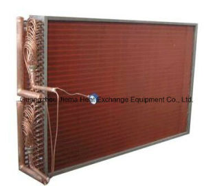 Fin Tube Type Copper Tube Air Heat Exchanger for Air Cooling pictures & photos