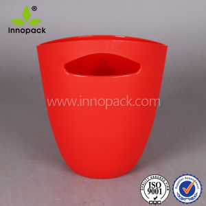 Colorful Hotsale Plastic Ice Bucket with Handle Hole pictures & photos