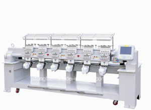 Embroidery Machine with 12 Needles 6 Heads Suitable for Cap/T-Shirt (TLC-1206) pictures & photos
