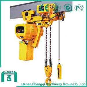 High Working Efficiency 3 Ton Electric Chain Hoist pictures & photos