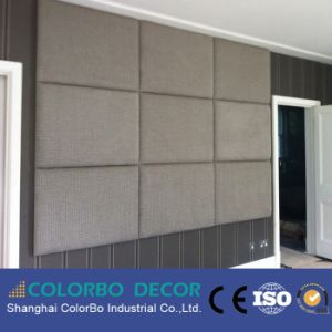 Fireproof Interior Wall Fabric Acoustic Panel for Reading Room pictures & photos