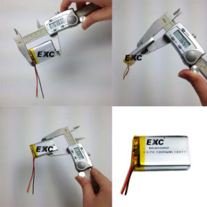 803450 3.7V 1400mAh Customize Lithium Battery for MP4 pictures & photos