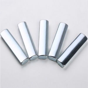 Permanent NdFeB Neodymium Tile Magnet for Elevator Motor pictures & photos