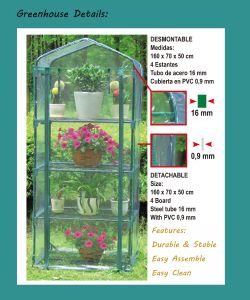 Hot Sales Farm Garden Warm Mini Flower House pictures & photos