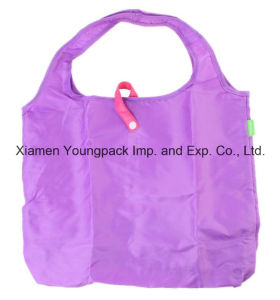 Advertising Promotional Custom Reusable Eco Polyester Foldable Shopping Carrier Tote Bag pictures & photos
