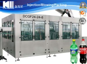 Automatic 3-in-1 Gas Water / Carbonated Beverage Filling Machine pictures & photos