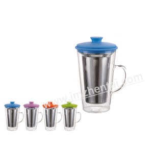 Personalized Hand Made Chape Colored Drinking Water Glass Cup pictures & photos