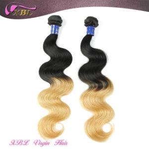 Peruvian Virgin Hair Honey Blonde Ombre Bundles Hair Weaves pictures & photos
