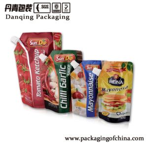 Tomato Packing Bag with Spout Food Packaging Bag pictures & photos