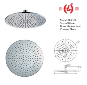 B. R300 Brass Shower Heads in 12inches Chrome Plated pictures & photos