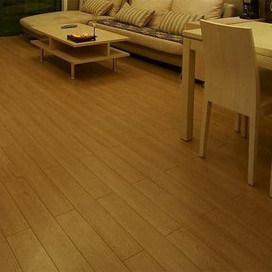 Natural Strand Woven Bamboo Flooring Smooth UV Lacquer pictures & photos
