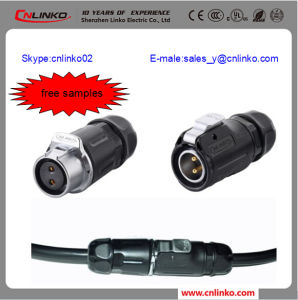Hot Selling Male Female Cable End Connector/Dock Connector for LED Strip, LED Lighting pictures & photos