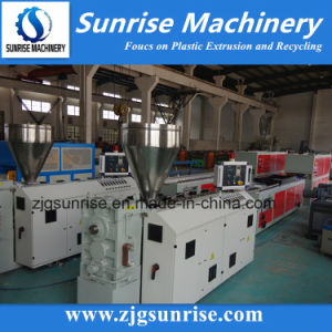 PVC Profile Making Machine for Window, Door, Ceiling and Wall Panel pictures & photos