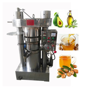 45kg Cocoa Pumpkin Extraction Hydraulic Cold Mini Oil Press Machine pictures & photos
