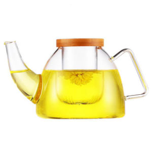 Transparent Glassware Glass Tea Pot Borosilicate Glass Drink Teapot pictures & photos