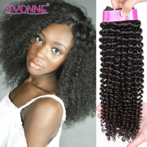 Popular Brazilian Virgin Hair 100% Human Hair Extensions pictures & photos