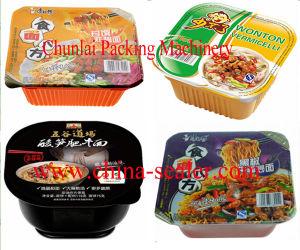 Automatic Noodle Bowl /Box Sealing Machine pictures & photos