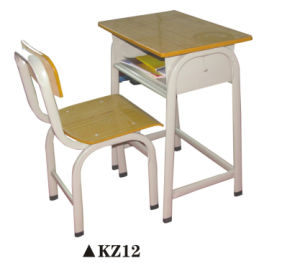 Classical Single Student Desk and Chair pictures & photos