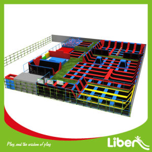 Indoor Playground Equipment with Trampoline Park for Amusement pictures & photos