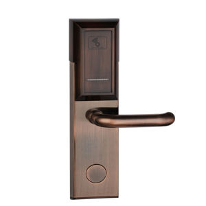 Purple Bronze Color RF57 Modern Hotel Door Lock as Promotion Model pictures & photos
