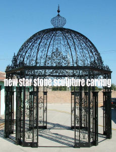 Cheap Iron Metal Gazebo for Garden Decoration pictures & photos