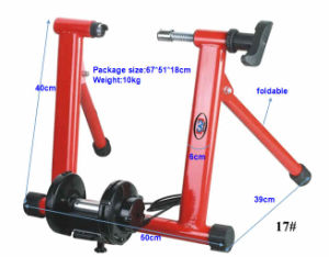 Metal Powder Coated Mini Home Bike Trainers pictures & photos