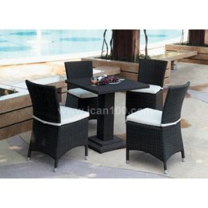 Wholesale Water-Proof Rattan Bar Furniture Set (IF-1005) pictures & photos