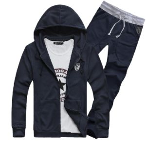Wholesale Man Sport Suits Tracksuit pictures & photos