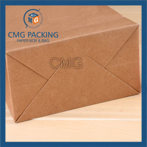 Printed Kraft Paper Bag with Tiwst Paper Handle (CMG-MAY-041) pictures & photos