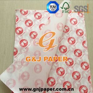 High Quality Greaseproof Printed Paper for Chicken/Burger/Sandwich Wrapping pictures & photos