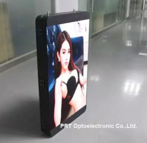 High Brightness P5 Full Color Video Vertical LED Sign Board (640*960mm) pictures & photos