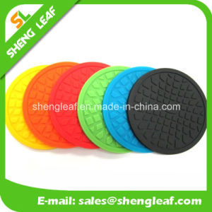 Householder Eco-Friendly 3D Soft Rubber Coaster (SLF-RC002) pictures & photos