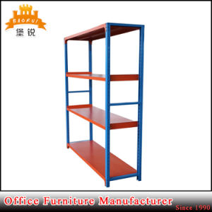 Supermarke Warehouse Usage Metal Light Duty Storage Rack Shelf with Good Quality pictures & photos