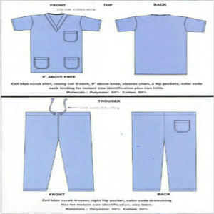 Ly Hot Cotton Scrubs Suit Designs (LY-CSS-P-M) pictures & photos
