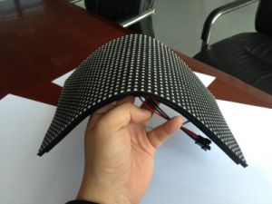 Flexible LED Display with Soft Mask Can Be Any Shape pictures & photos