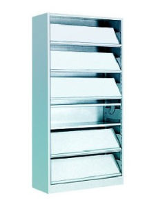 Powder Coating Steel Metal Rack Filing Cabinet (bookcase, bookshelf) (HX-ST170) pictures & photos