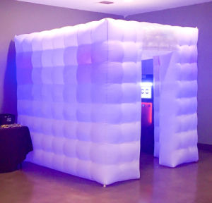 Tent Inflatable Photo Booth Inflatable LED Booth for Party