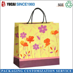 Customized Logo Ladies Paper Shopping Bag pictures & photos