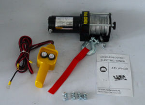 ATV 4X4 off-Road Electric Winch Power Winch (3000lb-1) pictures & photos