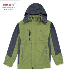 2017 Women Man Adult Colourful Insulated Waterproof Snowboard Jacket Green pictures & photos