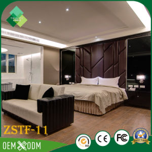 Foshan Factory Wholesale Cheap Bedroom Furniture Set for Sale (ZSTF-11) pictures & photos