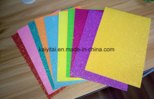 Die Cut EVA Foam Glitter Sheet for Kids′ Art Craft pictures & photos