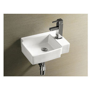Watermark Approve Wall Hung Small Wash Basin pictures & photos