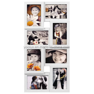 Plastic Multi Openning Collage Home Decoration Photo Frame pictures & photos