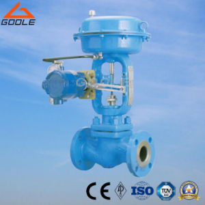 Hlc Small Size Single Seat Pneumatic Pressure Control Valve / Sleeve Type pictures & photos