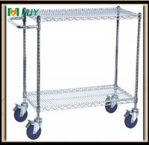 Wire Shelving with Castors Mjy-Wsc13 pictures & photos