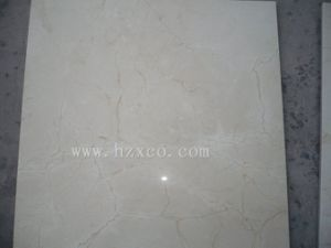 White Cream Marfil Marble Big Slabs/Tiles pictures & photos