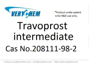 Good Quality Pharmaceutical Travoprost Intermediate CAS 208111-98-2 pictures & photos